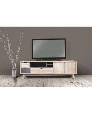 Rasomm TV Cabinet 6 Feet