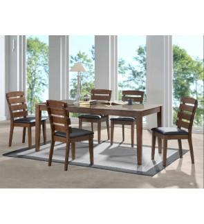 Simoz Rubberwood Dining Chair