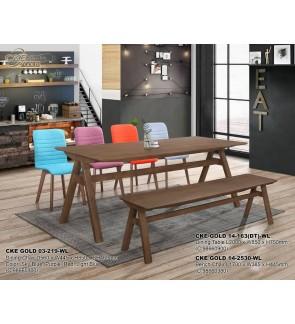 Kinko Rubberwood Dining Chair