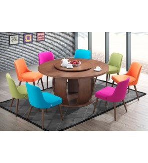 Zintom Rubberwood Dining Chair