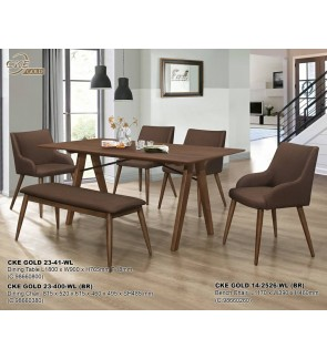 Walten Dining Table L180cm x W90cm x H76.5cm