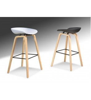 Woodi Bar Stool 75cm Seat Height