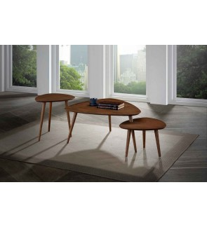 Amdonze Coffee Table with Side Table