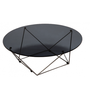Donkovef Tempered Glass Coffee Table