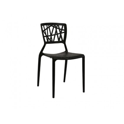 E HOME FURNITURE (Set of 4 Unit) Stackable PP Chair / Dining Chair / Polypropylene Dining Chair