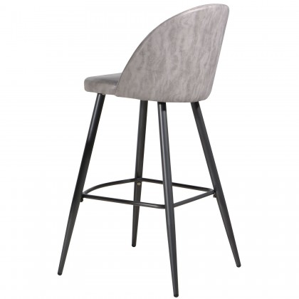 E HOME FURNITURE (Set of 4 unit) Sindia Bar Stool 75cm Seat Height Bar Chair