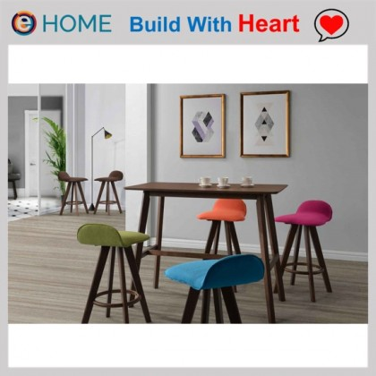 E HOME FURNITURE 66cm Seat Height Bar Stool (Set of Two Unit)