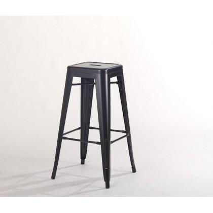E HOME FURNITURE (Set of 4 unit)Tolix Island Stool / Cafe and Pub Island Stool / Rome Metal Island Stool 66cm seat height
