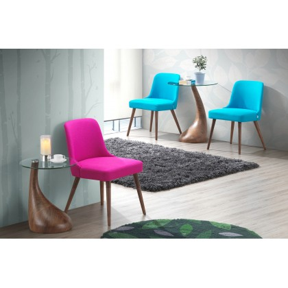 E HOME FURNITURE (Set of 2 Unit) Dining Chair Wooden Dining Chair